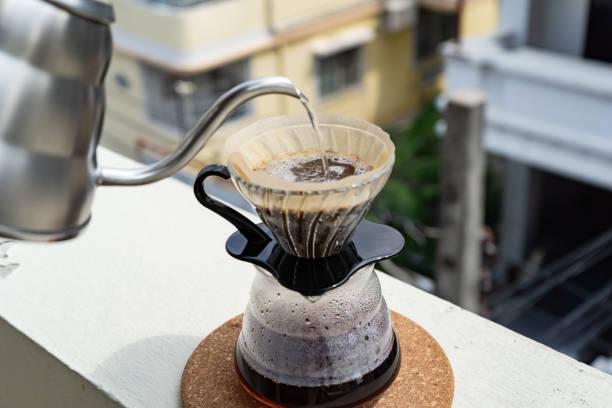 Gooseneck kettle and chemex
